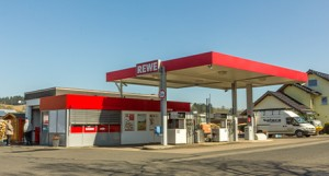 REWE Spodat Tankstelle
